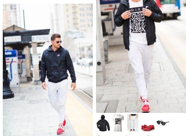 Красное и белое - это бессмертная классика мужского гардероба.