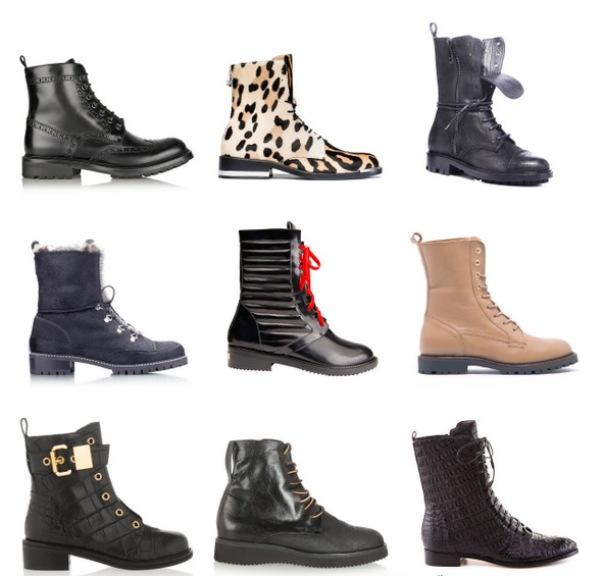 Женские ботинки производятся из различных материалов.