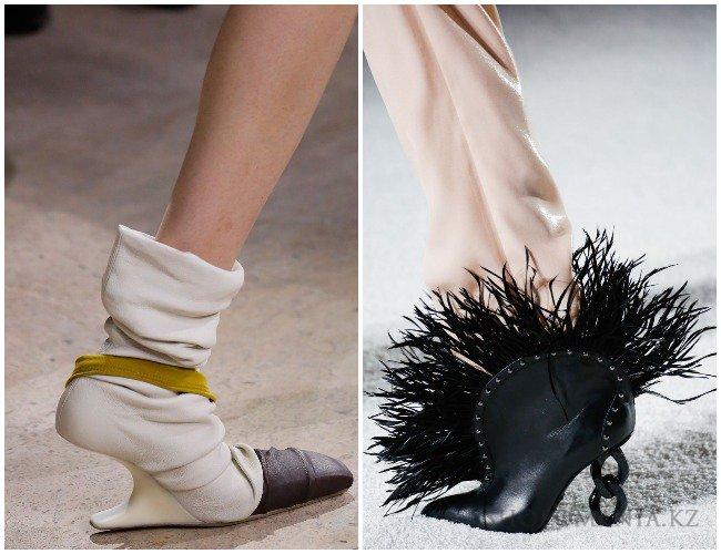 Остаться незамеченной в подобных ботинках просто невозможно.