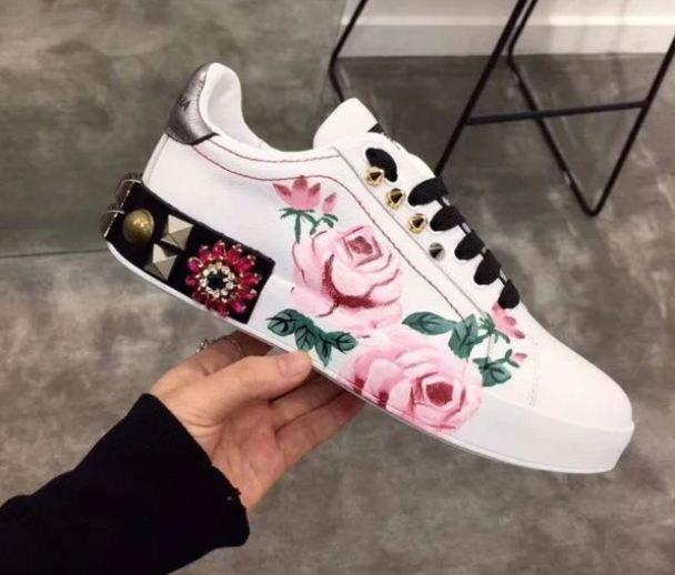 Цветочные мотивы в спортивном стиле от Dolce & Gabbana