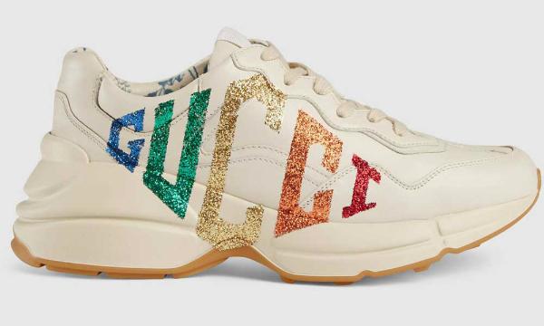 Супер-кроссовки от Гуччи.