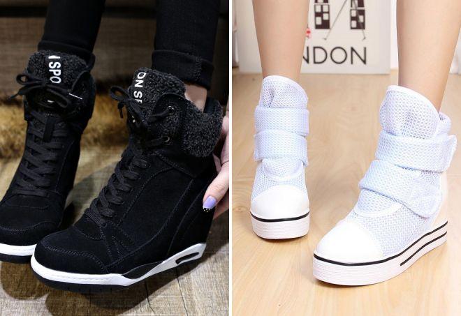 Черное и белое – универсальное решение для зимнего гардероба.