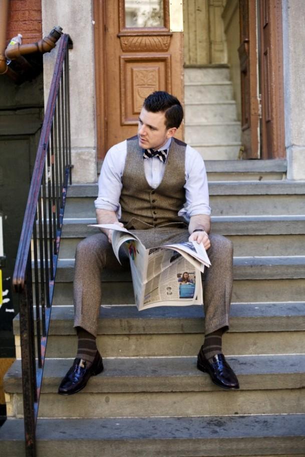 Лоферы в деловом стиле современного мужчины.