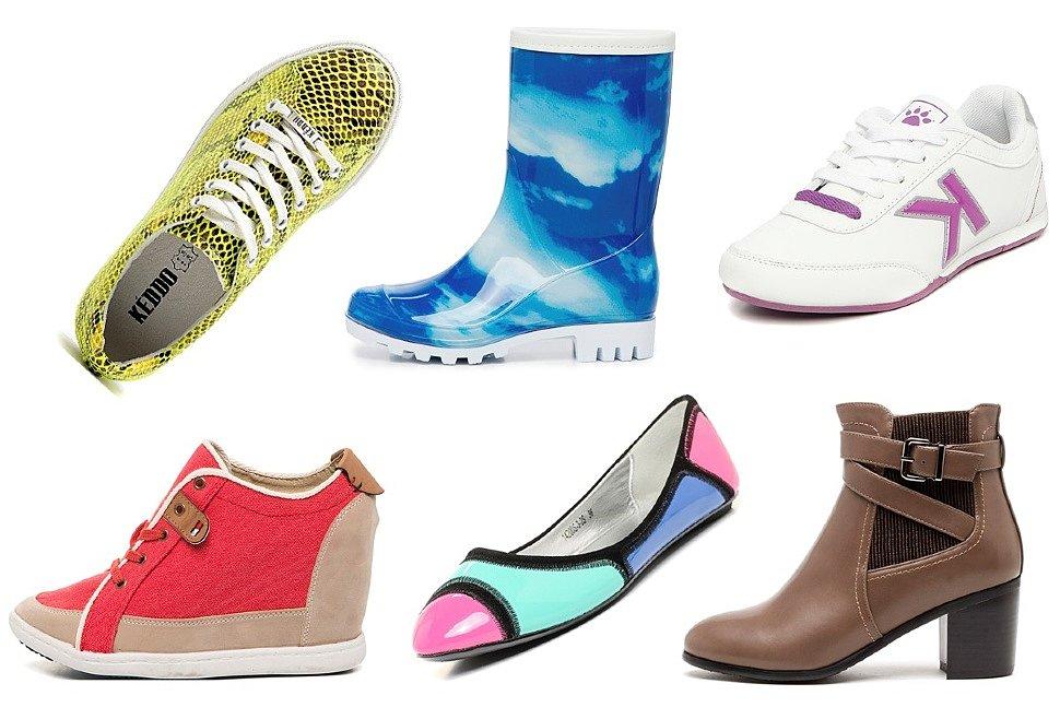 Ассортимент весенней обуви невероятно богат: от балеток до ботинок, актуально все.