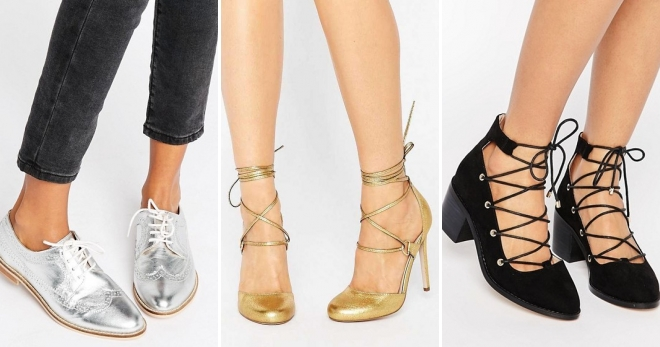 Шнуровка - лучший друг модной весенней обуви.