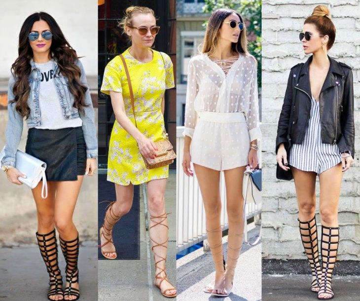 Одежда для гладиаторов может быть разного фасона и цвета, самое главное выбирать короткие шорты и юбки, которые прекрасно подчеркнут красоту гладиаторов