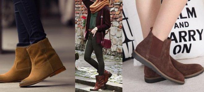 Женские коричневые ботинки - это всегда актуальная классика гардероба.