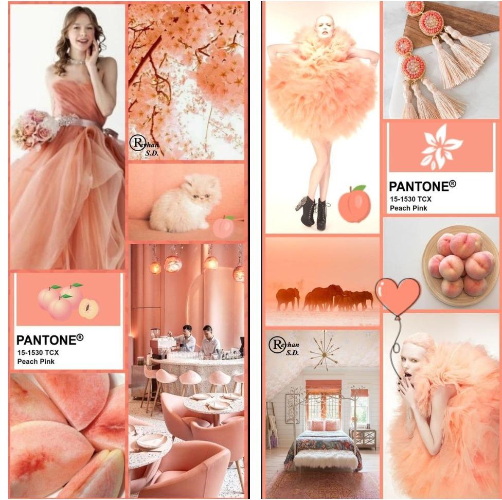 Peach Pink – это более мягкая и спокойная версия самого модного оттенка