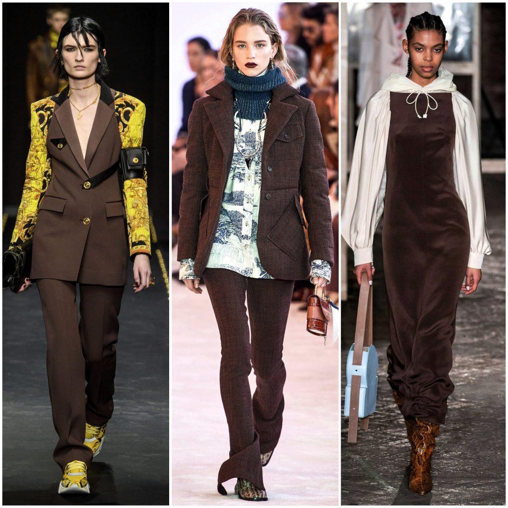 Versace, Chloé, Rejina Pyo осень-зима 2019-2020