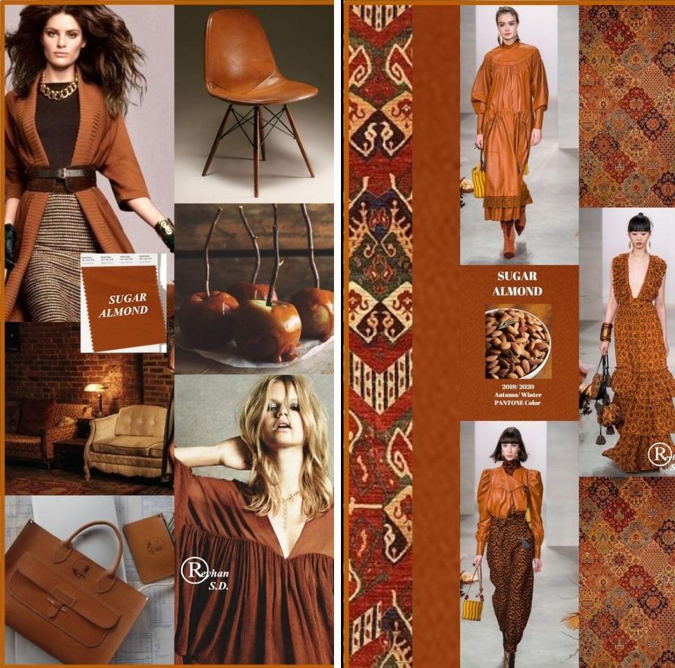 Sugar Almond – карамельный оттенок коричневого с красноватым подтоном