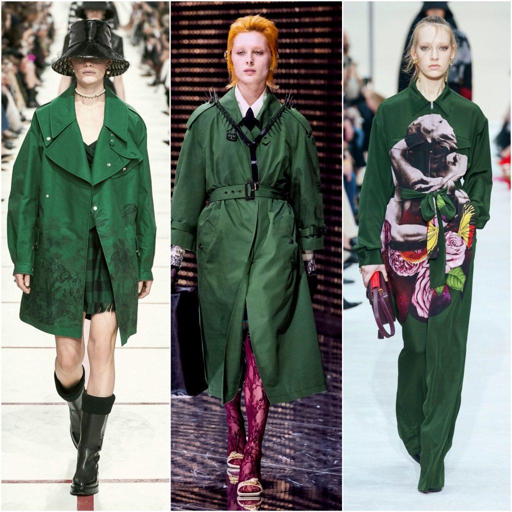 Christian Dior, Gucci, Valentino осень-зима 2019-2020