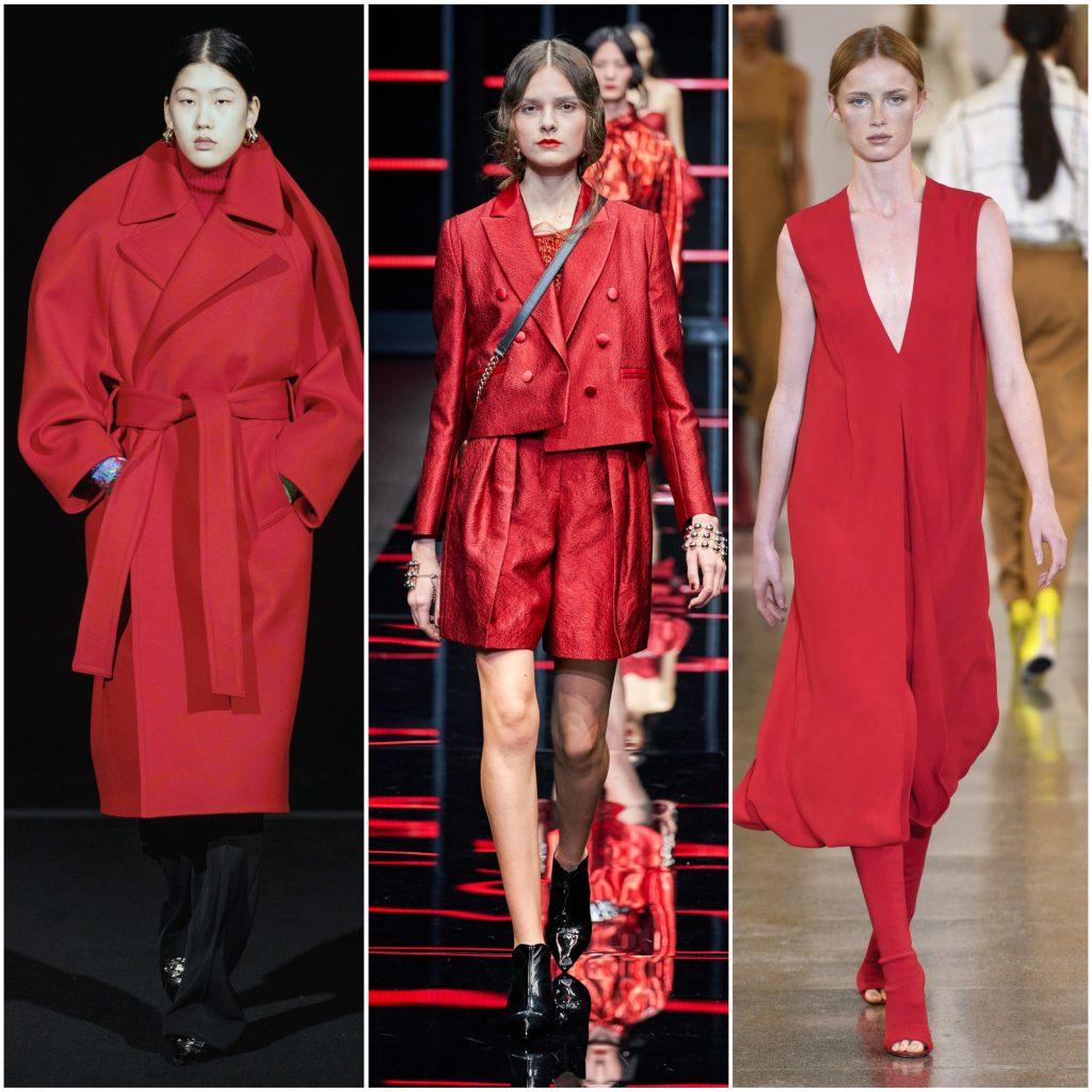 Balenciaga, Emporio Armani, Victoria Beckham осень-зима 2019-2020