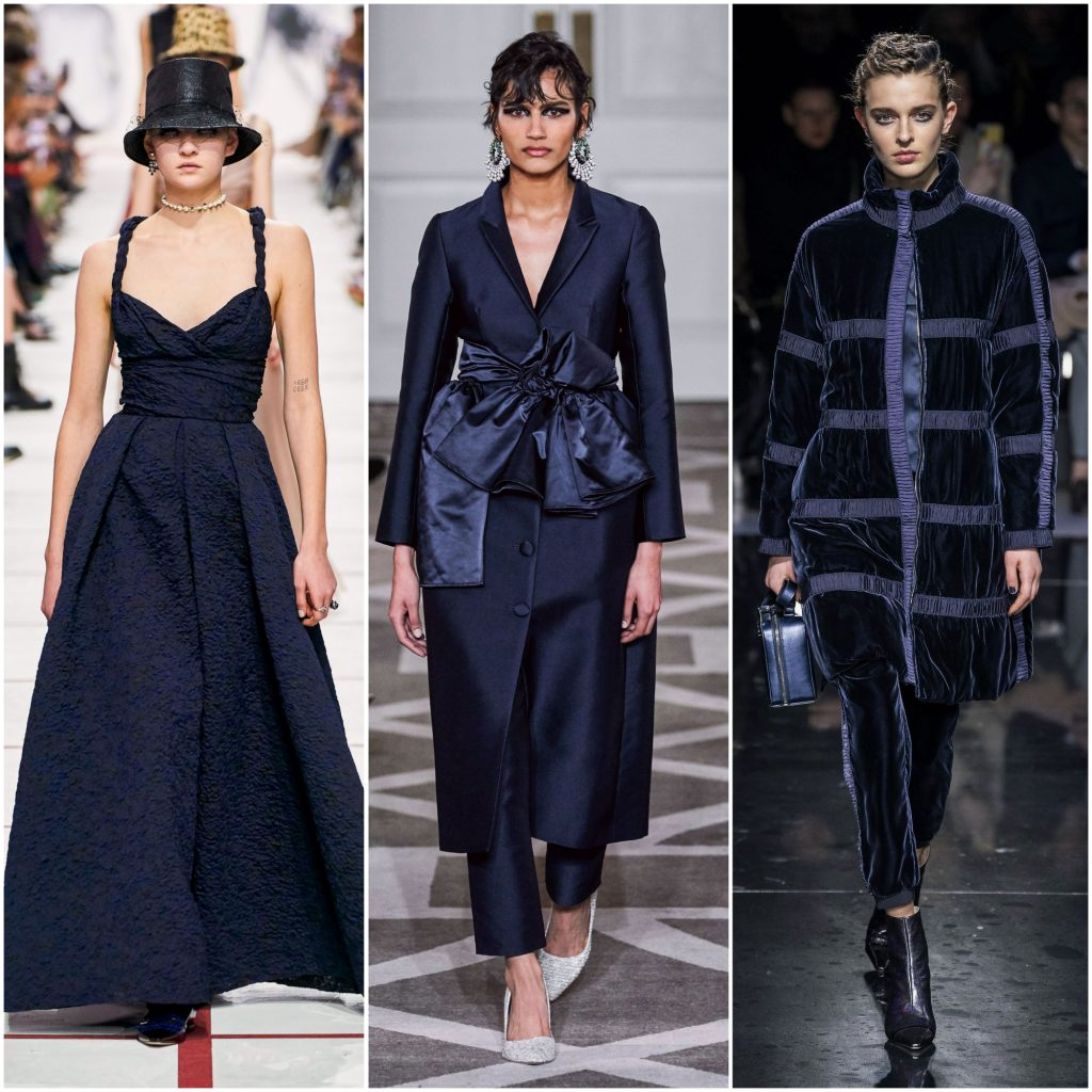 Christian Dior, Huishan Zhang, Giorgio Armani осень-зима 2019-2020