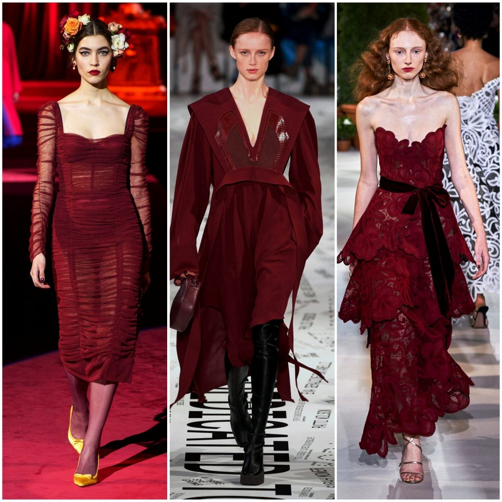 Dolce & Gabbana, Stella McCartney, Oscar de la Renta осень-зима 2019-2020
