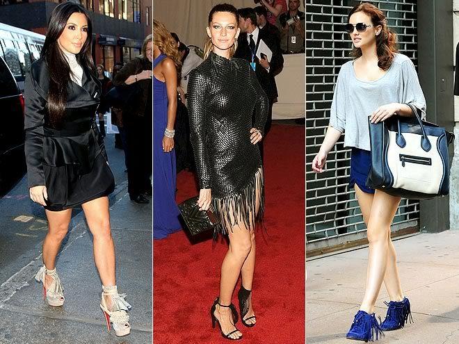 Мега-эффектное решение сезона - обувь с бахромой.