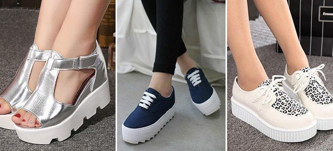 Обувь на платформе - комфортный тренд сезона.