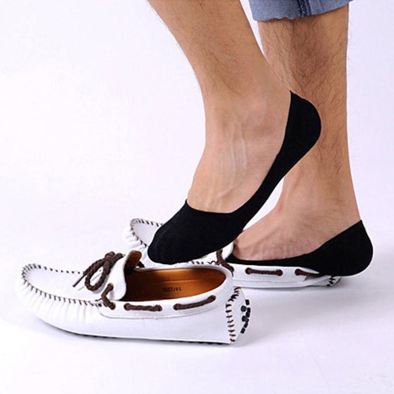 Это вариант для тех людей, которым дискомфортно без носка: маленькие следки, незаметные при носке