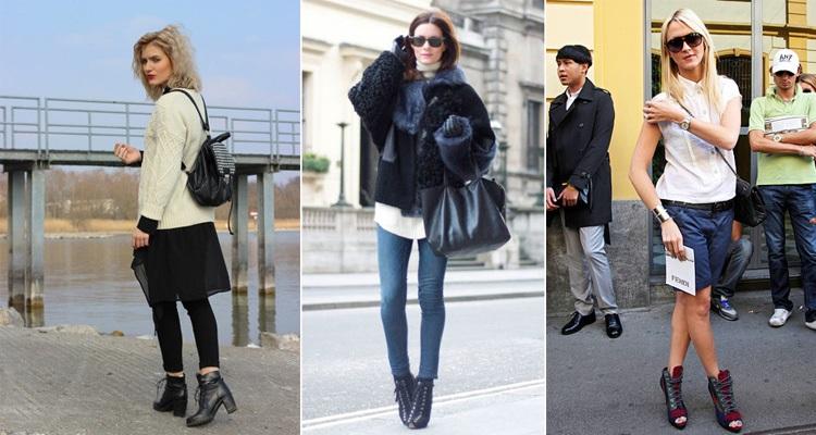 Эффектные ботинки на каблуке сделают образ женственнее и утонченнее.