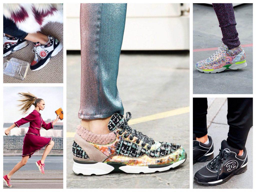 Яркие кроссовки на все случаи разнообразной женской жизни.