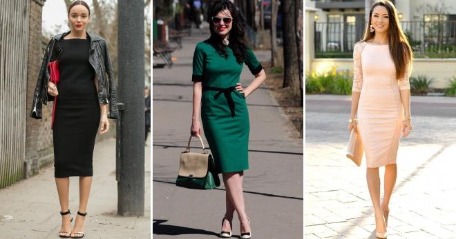 Главная задача обуви - подчеркнуть элегантность платья-миди