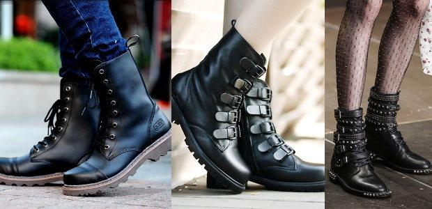 Армейские ботинки актуальны как никогда.