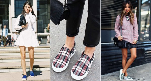 Слиперы на платформе – эффектное дополнение луков с юбками и платьями