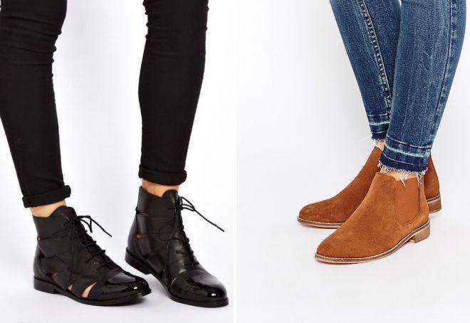 Ботинки — удобная повседневная обувь.