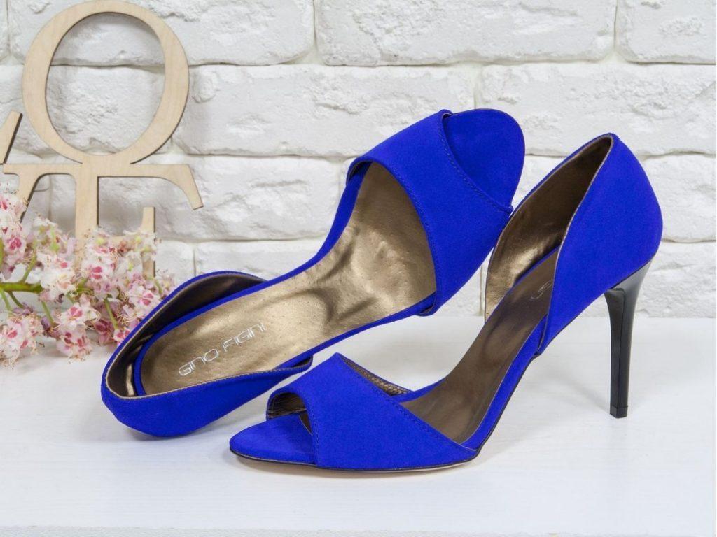 Туфли с открытым носком - воплощение женственности и элегантности.