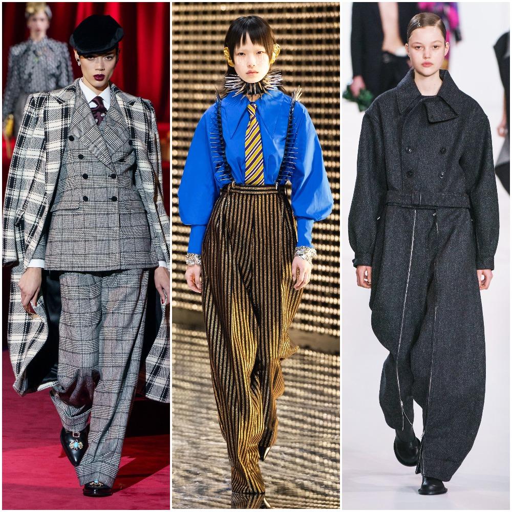 Dolce & Gabbana, Gucci, Maison Margiela осень-зима 2019-2020
