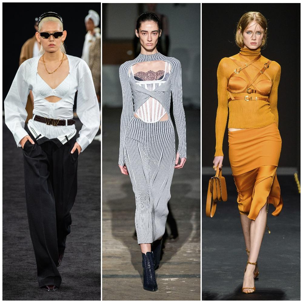 Alexander Wang, Dion Lee, Versace осень-зима 2019-2020