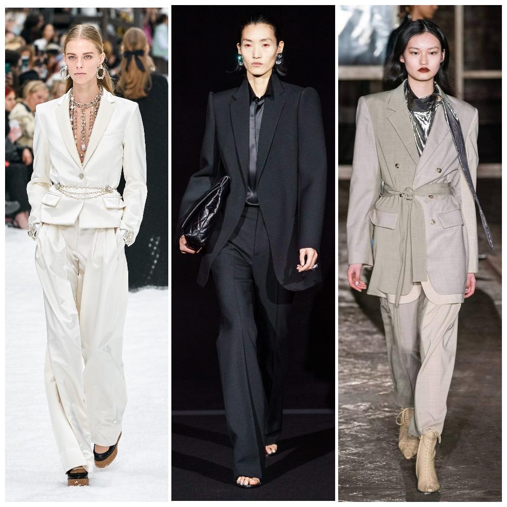 Chanel, Balenciaga, Rejina Pyo осень-зима 2019-2020
