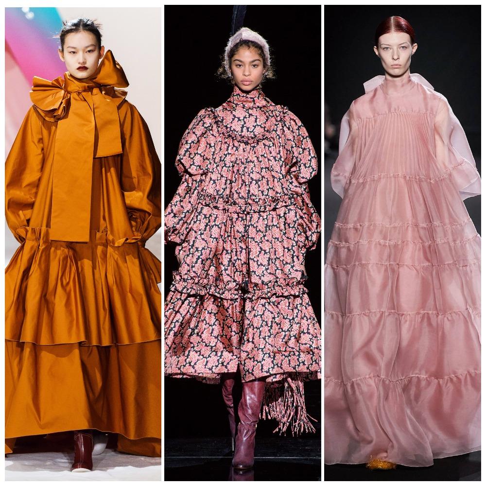 Roksanda, Marc Jacobs, Rochas осень-зима 2019-2020
