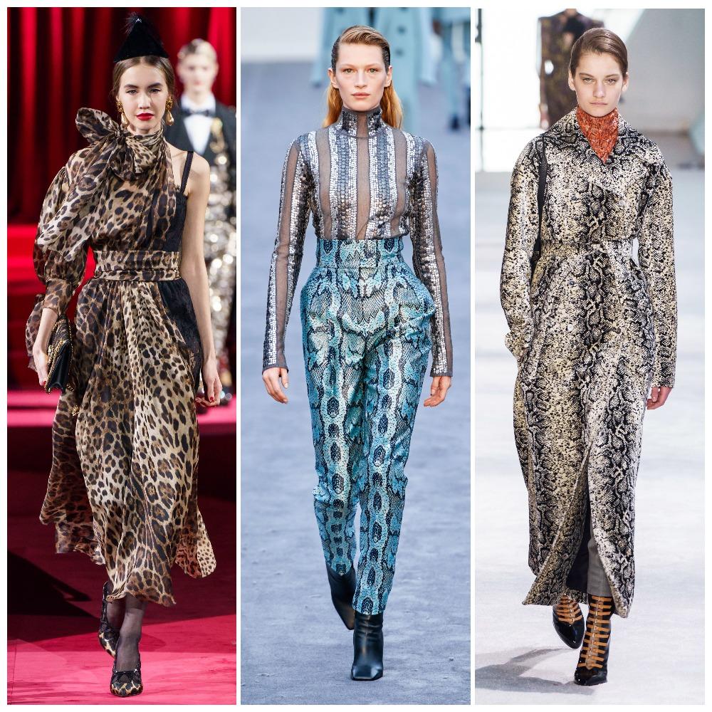 Dolce & Gabbana, Roberto Cavalli, Giambattista Valli осень-зима 2019-2020