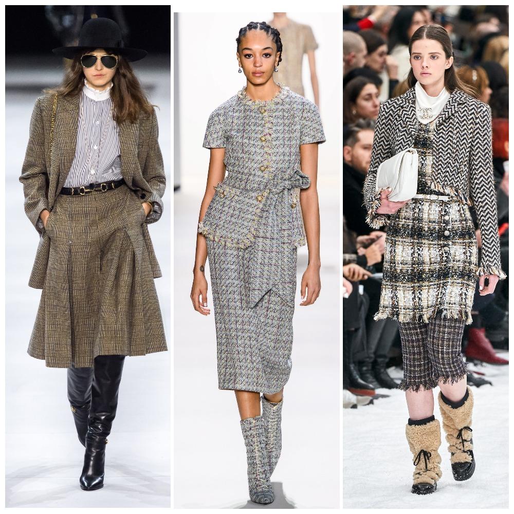 Celine, Brock Collection, Chanel осень-зима 2019-2020