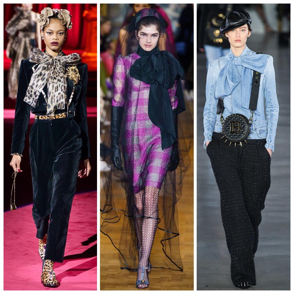 Dolce & Gabbana, Erdem, Balmain осень-зима 2019-2020