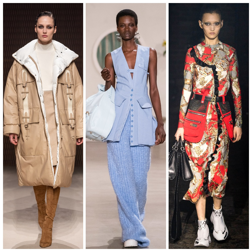 Hermès, Jacquemus, Palm Angels осень-зима 2019-2020