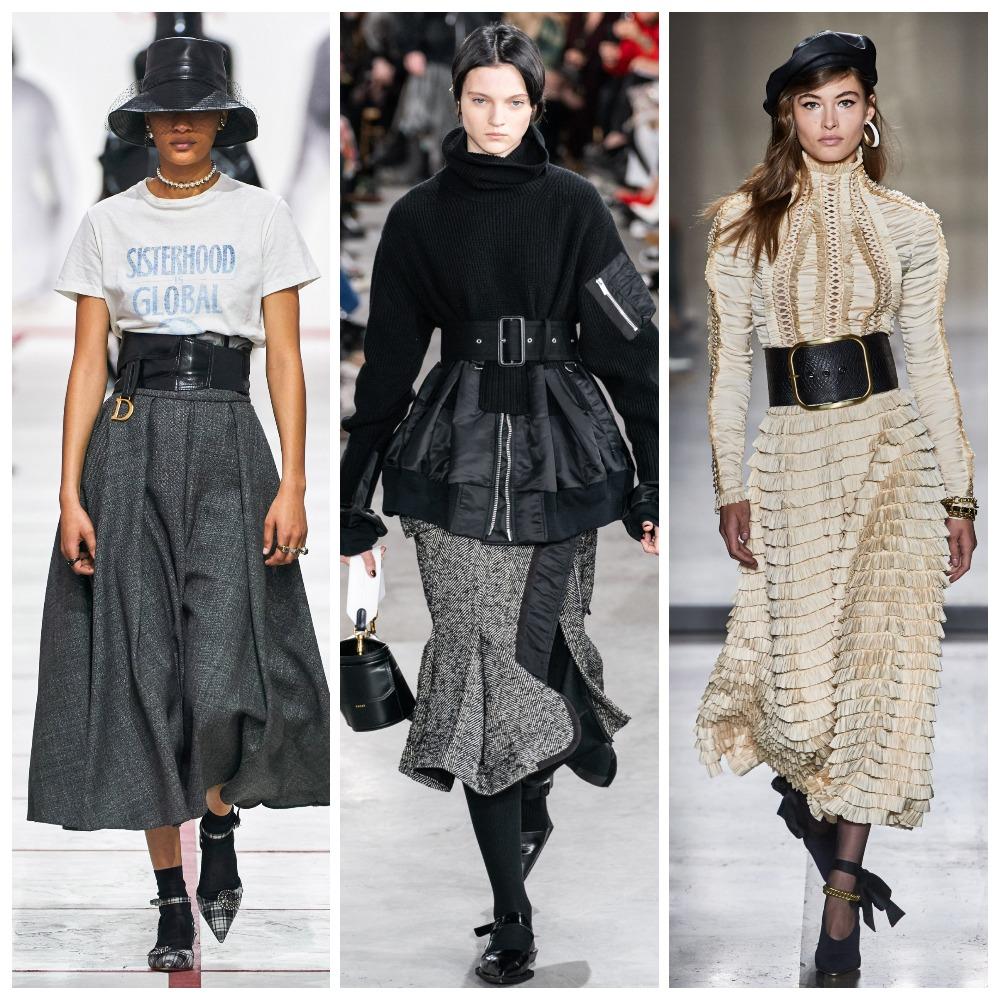 Christian Dior, Sacai, Zimmermann осень-зима 2019-2020