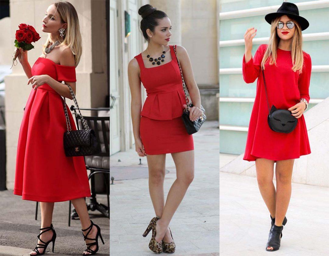Маленькая черная сумочка - лучшая подруга красного платья.