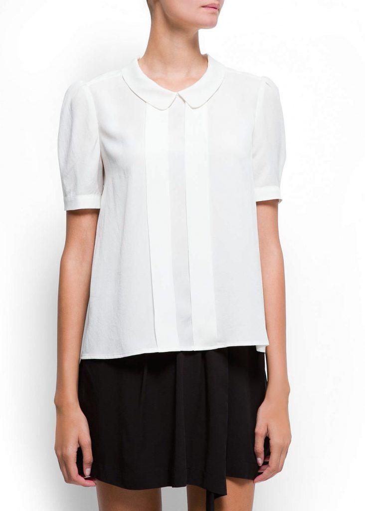 Итонский ворот или Питер Пен – трендовый вариант воротника в современных рубашках