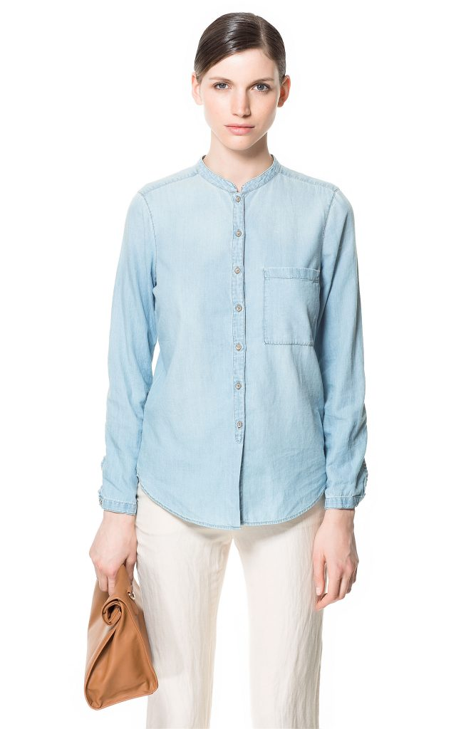 Мандарин – нечасто встречающаяся версия ворота рубашки
