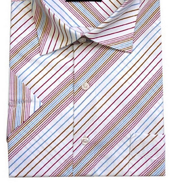 Обычный тип застежки на рубашке – без планки