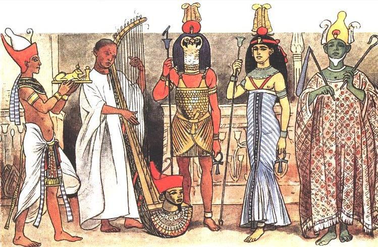 История появления рубашки восходит ко временам Древнего Египта