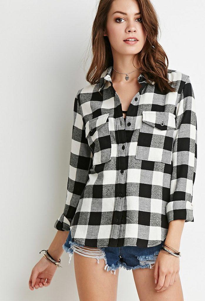 Рубашка из фланели – часто встречающегося вида материала на основе хлопка или шерсти