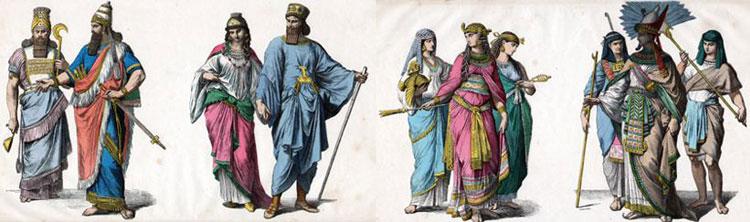 В Древнем Вавилоне и во времена Рима рубашки уже существовали в нескольких вариациях
