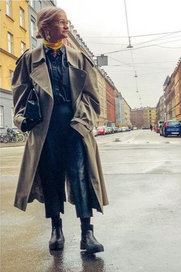 Кожаные рубашки носят в холодное время под объемную верхнюю одежду