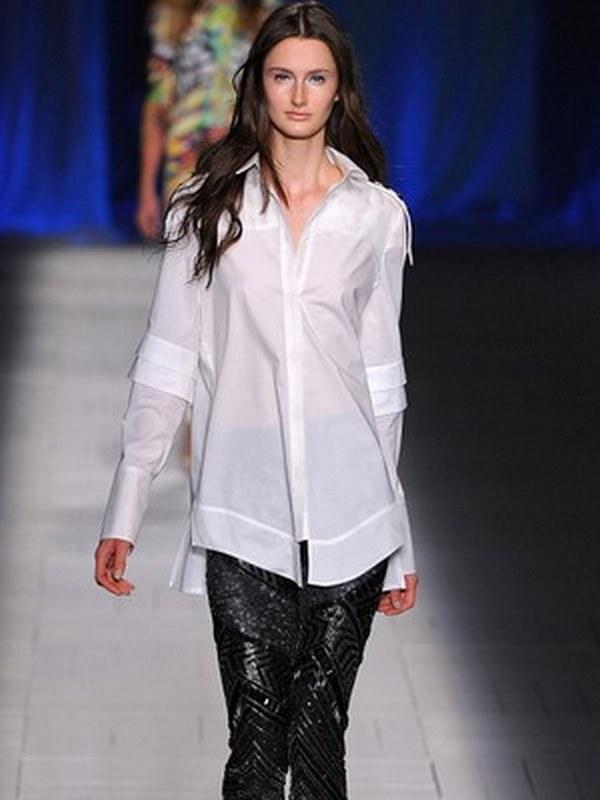 Модные дома мира используют в своих коллекциях рубашки из хлопка