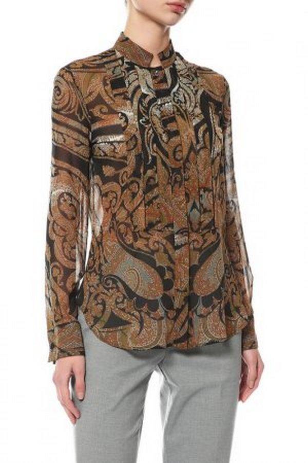 Пейсли – модный принт, который используют при создании рубашек