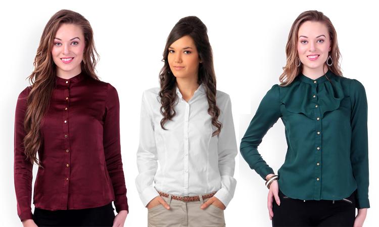 Отличия в моделях рубашек состоят в оформлении воротника, застежки и вариантах декора