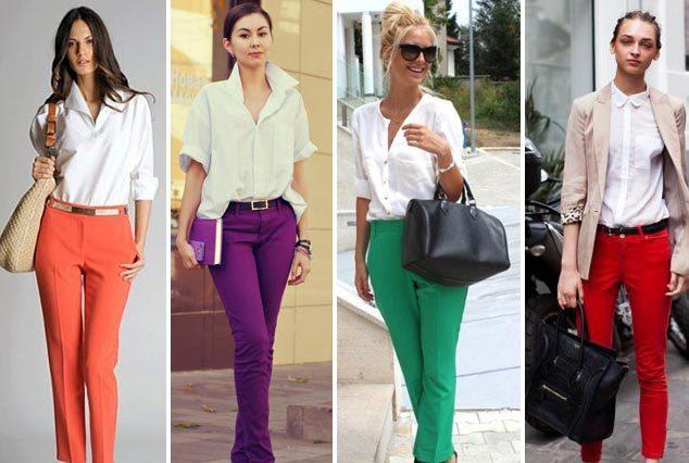 Рубашка универсального белого цвета - прекрасный компаньон одежде в любом оттенке спектра
