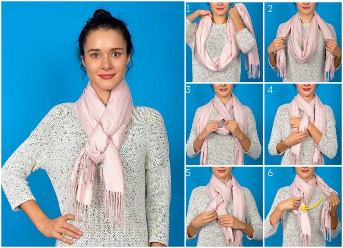 Плетение косичкой показано очень подробно.